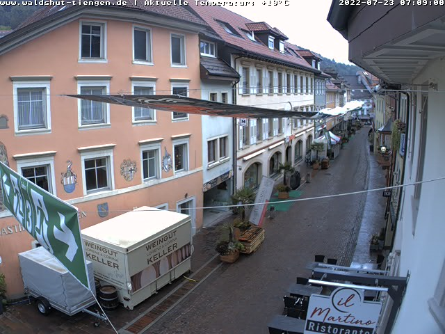 Waldshut-Tiengen City Center (in Tiengen), Pedestrian Zone